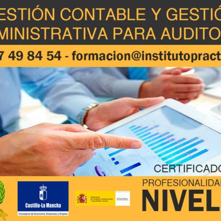 Gestión Contable y Gestión Administrativa para Auditoria | Certificado de Profesionalidad Nivel III